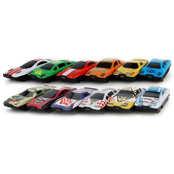 Metal Cars Model Children Early Education Toys Boys Girls Mini Car Puzzle Toy 090B image