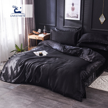 Liv_Esthete Bed Sheet Quilt Cover Bedding Set Double Queen Rubber Fitted On Elastic Band Decor Adult Euro Duvet