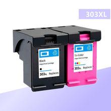 Cartucho de tinta Compatível para HP303 303XL para Hp 303 para HP Envy 6220 6222 6230 6234 6252 6255 7120 7130 7132 7155 Impressoras