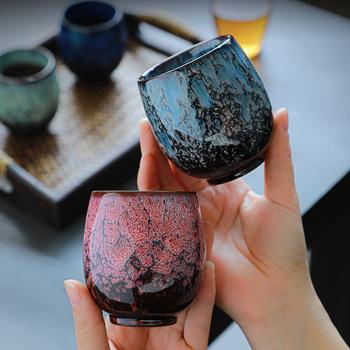 Kreatywny ceramiczny chiński Kung Fu kubek do herbaty porcelanowe filiżanki filiżanki do kawy i kubki o dużej pojemności kubek podróżny whisky Drinkware Caneca tanie i dobre opinie CN (pochodzenie) Porcelany kubki do kawy W stylu japońskim Bez elementów Other Mugs Coffee mug 31 Ekologiczne Creative Coffee Cups