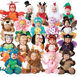 Joli Costume d'animaux pour BabygrowInfant | Déguisement pour garçons et filles, Costume Cosplay Lion/chien/éléphant/tigre 40