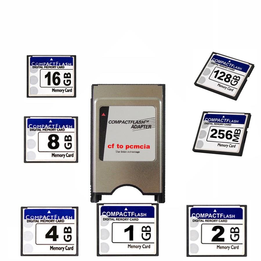 Высококачественная новая OEM cf карта 128 МБ 256 МБ 512 МБ 1 Гб 2 ГБ 4 ГБ 8 ГБ 16 ГБ 32 ГБ + pcmcia + карта для станка ЧПУ IPC с числовым управлением