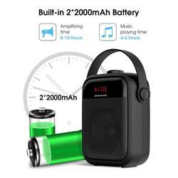 Speaker High quality Wireless Stereo Portable HIFI Speaker Subwoofer FM Radio Outdoor Karaoke speaker