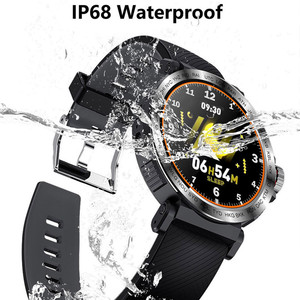 Image 3 - S18 Full Screen Touch Smart Watch IP68 waterproof Men Sports Clock Heart Rate Monitor Smartwatch for IOS Android phone