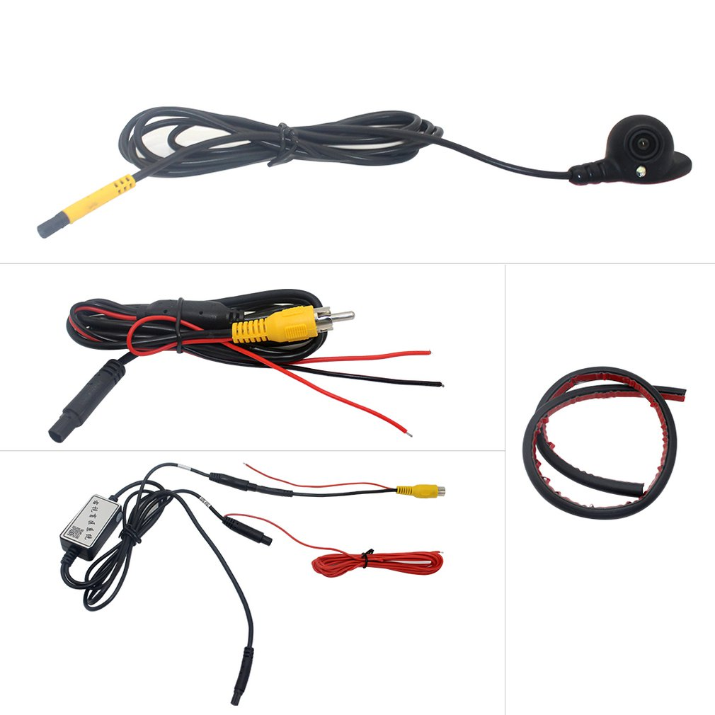 Car Right Side Blind Area Camera Rear View Mirror One Machine Hd Night Vision Camera PZ435