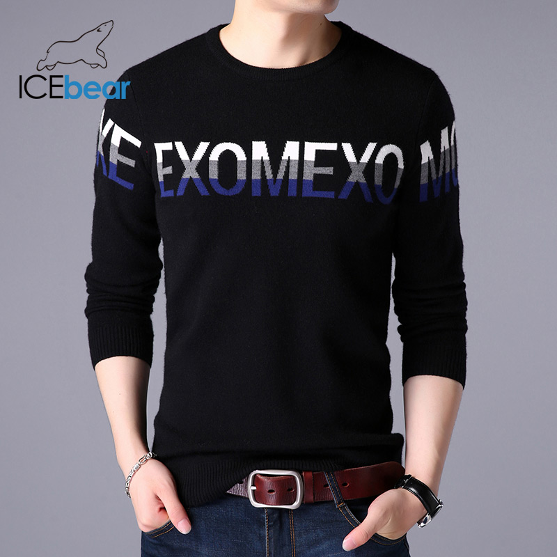 ICEbear 2019 Autumn New Men's Sweater Casual Men's Pullover Brand Men's Clothing 1727