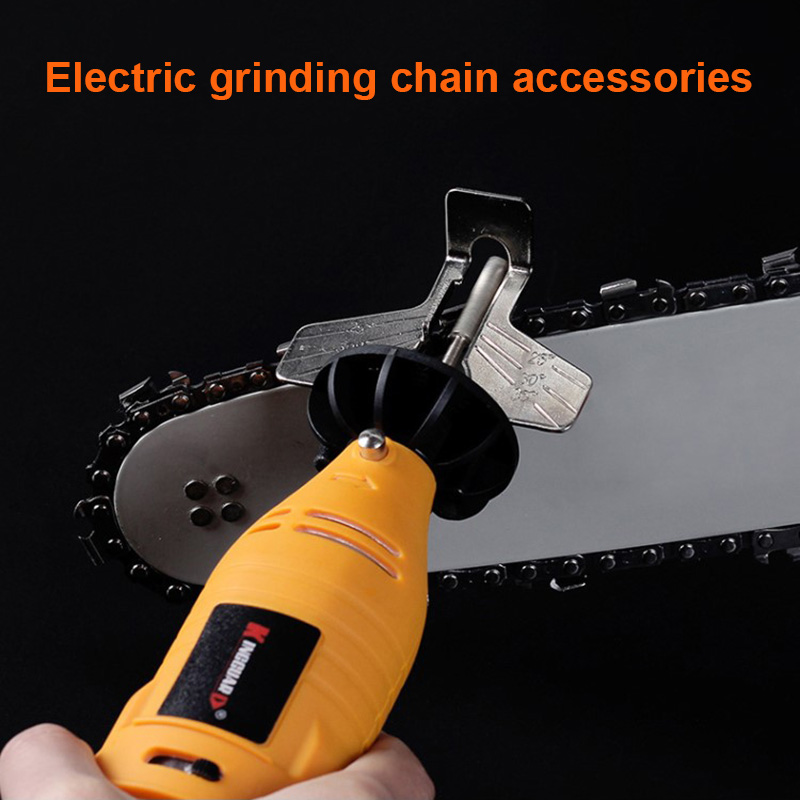 Chainsaw Sharpening Kit Electric Grinder Sharpening Polishing Attachment Set Saw Chains Tool UND Sale