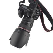 Бленда Объектива Камеры байонетное Крепление подходит для Canon EF 24 105 мм f/4L IS USM 77 мм фильтр объектива (несовместим с полной рамкой DSLR)