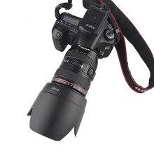 מצלמה עדשת הוד כידון הר Fit עבור Canon EF 24 105mm f/4L הוא USM 77mm מסנן עדשה (לא תואם עם מלא מסגרת DSLR)