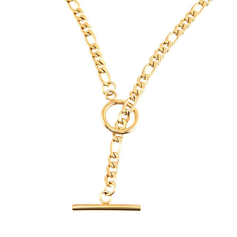 Купить цепочка с кубинским плетением для мужчин и женщин базовое ожерелье