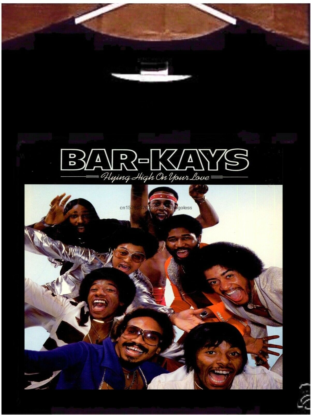 Bar-kays t camisa voando alto em sua barra de amor-kays camiseta