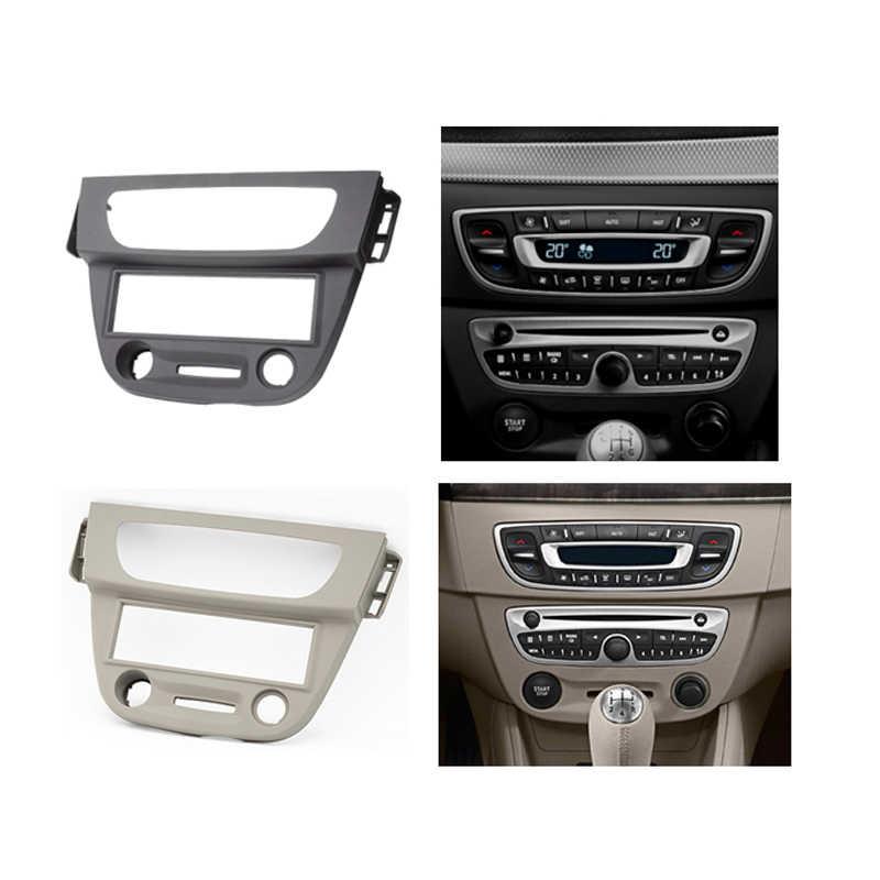 Cho Renault Megane III Fluence Radio CD GPS DVD Stereo CD Bảng Dash Gắn DIN Âm Thanh Fascia Lắp Đặt Viền Bộ khung