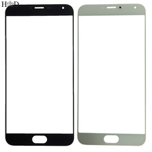 Mobile Front Glass Panel For Meizu MX5 Phone Outer Screen Glass Lens LCD Outer Glass Replacement Repair Part With OCA Glue