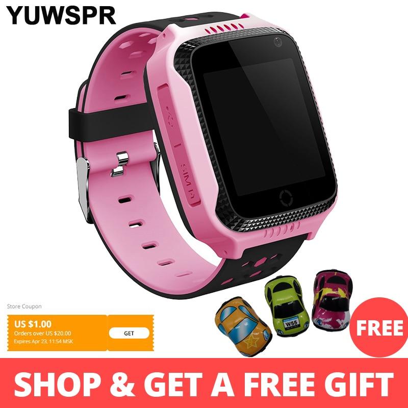 GPS Tracker Kids Watch Smart GPS Watches Camera Flashlight SOS Call Location Baby Clock Children Watches Q528 2G Data SIM Card