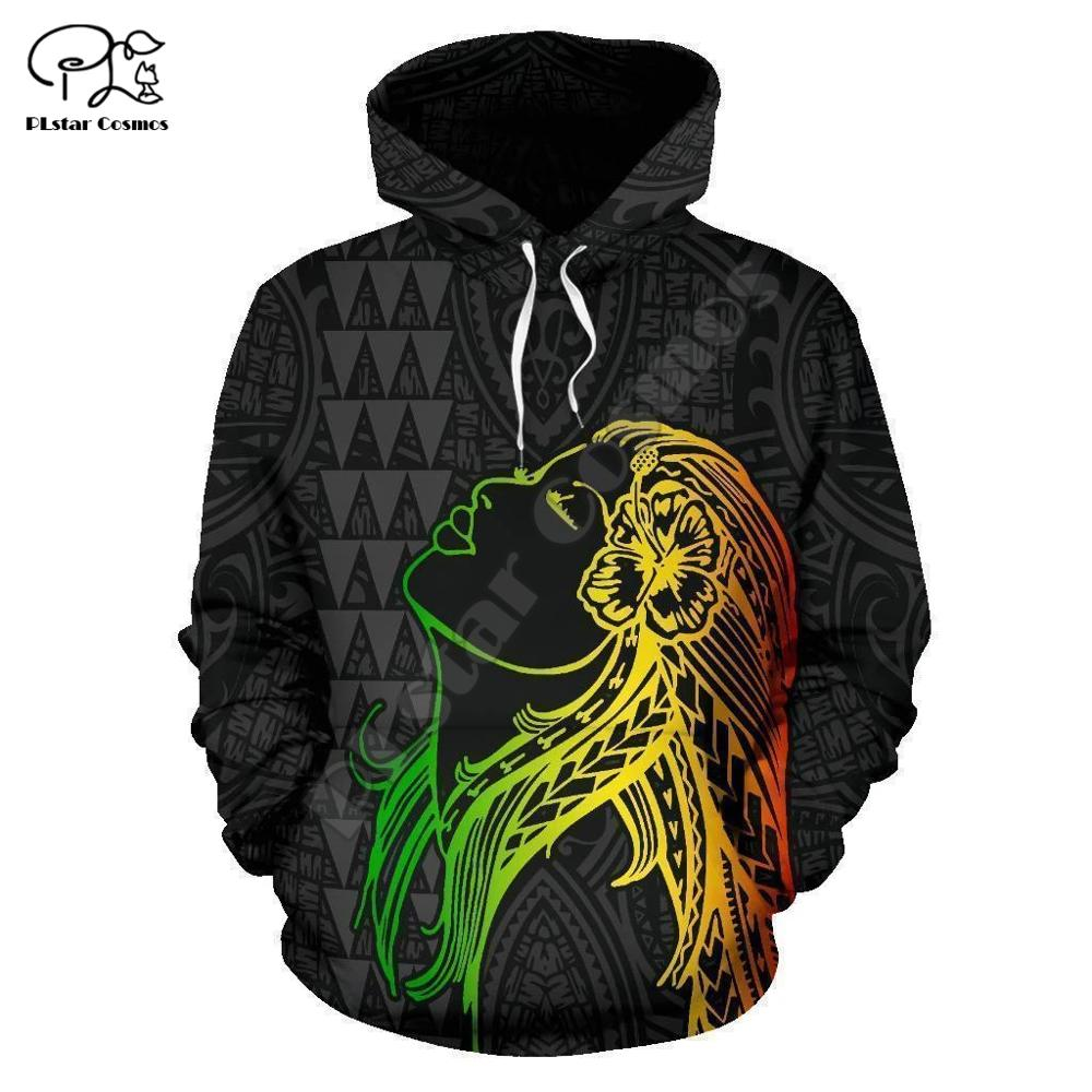 PLstar Cosmos 3DPrint Kanaka Polynesian Tribal New Fashion Unisex Harajuku Streetwear Funny Casual Hoodies/Sweatshirt/Jacket/a1