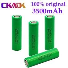 Original mj1 3.7 v 3500 mah 18650 bateria recarregável de lítio para baterias de lanterna para 18650 lg mj1 3500 mah bateria