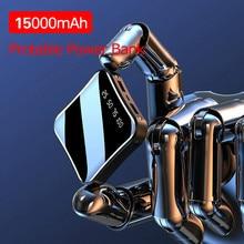 15000mAh Mini Portable Power Bank Full Screen Digital Displa