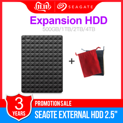 Seagate Expansion USB 3.0 HDD 1TB 2TB 4TB Portable HDD  2.5 External Hard Drive Disk for Desktop Laptop MAC PS4