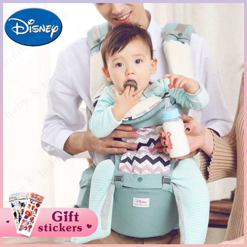 Disney Baby Carrier Breathable Front Facing Ergonomic Hipseat Infant Baby Carrier Kids Outdoor Activity Disney Accessories