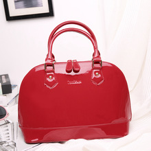 New Style Bright Red Marriage Bride Bag Crossover Shoulder Bag