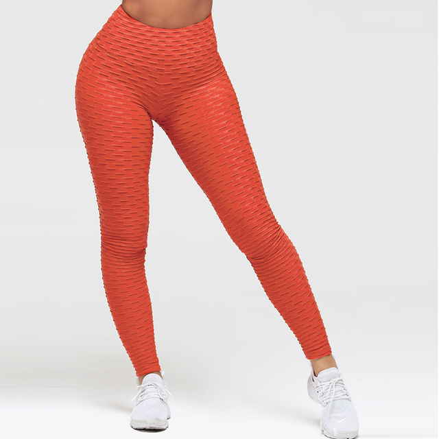 SALSPOR Sport Leggings Women Gym High Waist Push Up Yoga Pants Jacquard Fitness Legging Running Trousers Woman Tight Sport Pants 7