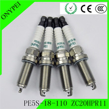 4 sztuk Iridium PE5S 18 110 ZC20HPR11 świecy zapłonowej dla Mazda 3 6 CX 3 CX 5 MX 5 Miata