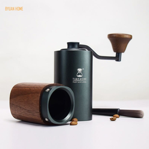 Image 3 - 1 PC Timemore G1 MYY47 Aerolite portable steel grinding core High quality handle design super manual coffee mill Dulex bearing