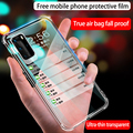 For HUAWEI P40 Protective sleeve silicone ultra-thin HAUWEI P30 P40 MATE30 MATE40 NOVA8 PRO new Transparent Luxury Phone Cover