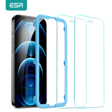 ESR for iPhone 12 Glass Screen Protector Full Cover Tempered Glass for iPhone 12 Mini 12pro 12 Pro Max Screen Protective Film