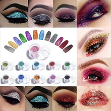 10 Gram Bulk Price Nail Glitter Powder Arts and Craft Glitter% 2C Eyeshadow Makeup Nail Art Pigment Glitter% 2C Glitter for Slime