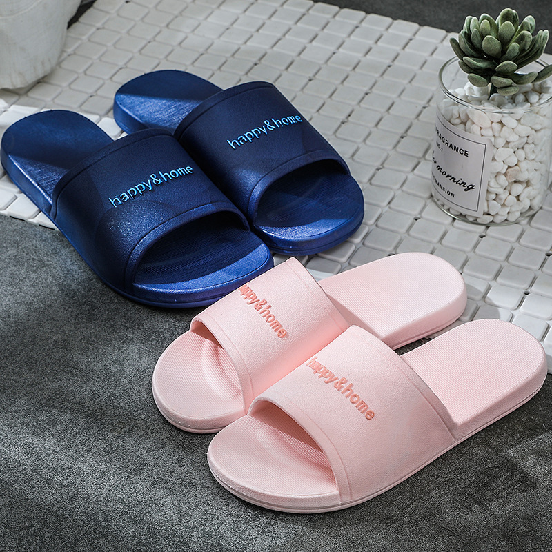 2020 Family Bathroom Slippers Home Indoor Non-slip Unisex Solid Soft Bottom Slipper Sandals Y9Y00121