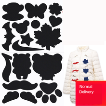 Colorful Down Jacket Hole Repair Self Adhesive Stickers Waterproof PVC Patches Cartoon Shape Coat Cloth Raincoat Umbrel Applique