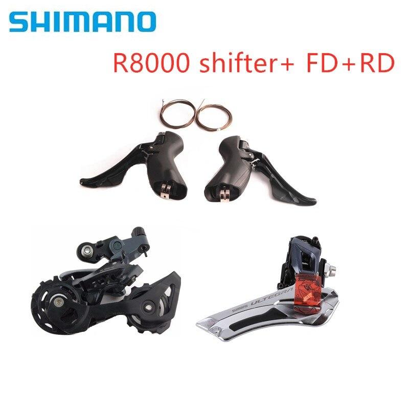 SHIMANO 105 R7000 2x11 Spd Groupset Kit Shifter Derailleur Front+Rear SS GS
