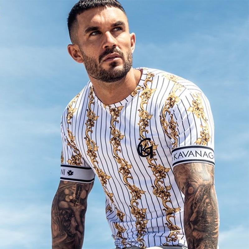 Summer SikSilk Male T Shirt Silk Silk Tshirt O-Neck Short Funny Mens Shirts T Shirts Sik Silk Men Tops Tees