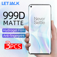 Película de hidrogel suave mate para One Plus Nord 7 Pro, 999D, antihuellas dactilares, Protector de pantalla para One Plus 6 7T Pro 8 Pro, no cristal