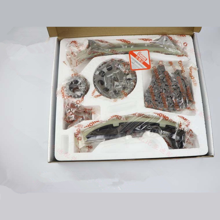 Timing chain repair kit for BYD F0 371Q engine Timing chain+Tensioner+timing wheel+Timing rail