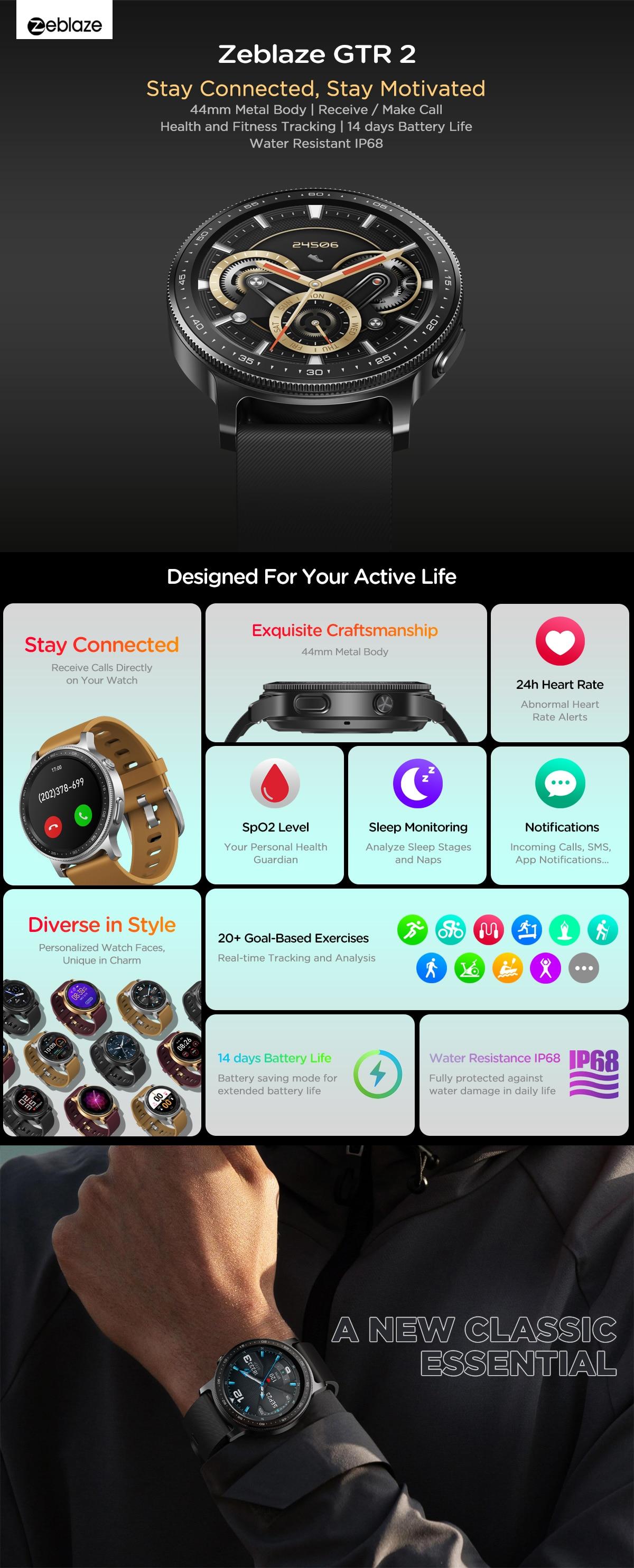 Zeblaze GTR 2 smartwatch 6