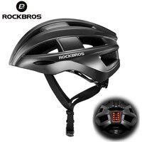 ROCKBROS Licht Radfahren Helm Fahrrad Ultraleichte Helm Elektrische Fahrrad Helm Mountain Road Fahrrad MTB Helm Fahrrad Helm Licht