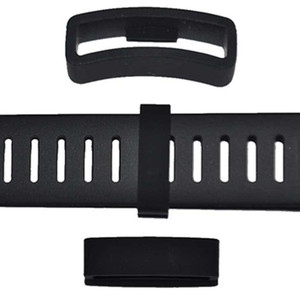 2Pcs Silicone Watchband Strap