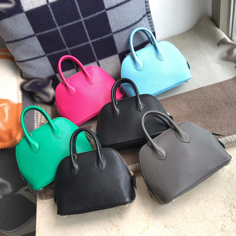 The Highest Quality Ladies Luxury Fashion Shoulder Bag 100% Leather Brand Famous Ladies Handbags All Hand