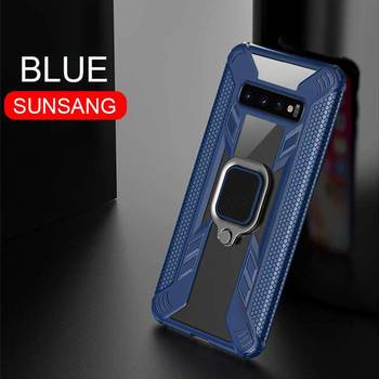Magentic Silicone Galaxy S 10 Plus Case