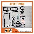 Комплект прокладок для ремонта двигателя для FITToyota EE80 EE90 EE10 # EE11 # 2E 1.3L V8 L4 04111-11026 1987-1997