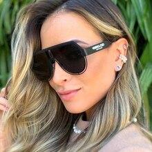 Pilot Sunglasses Vintage Steampunk Feminino Luxury Women UV400 Oculos Lentes Gafas-De-Sol