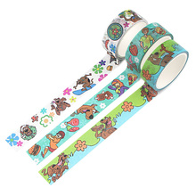 Tape Paper Scrapbooking Office-Supplies Stationary Washi Cartoon-Decoration Anime Creative