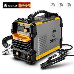 DEKO DKA Seria Soldadura Eléctrica Inversa 220V IGBT MMA 200 / 250 /160 Soldadurar Inverter para FAI DA TE, trabajo Electrico