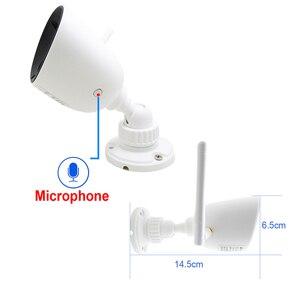 Image 3 - JIENUO Wifi Ip Kamera Auidio 720P 1080P HD Açık Su Geçirmez Kablosuz Cctv Güvenlik Ip kamera Onvif Kızılötesi Gözetim Ev cam