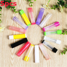 Lotion Container Glue-Stick Lip-Balm Travel-Bottle Empty Cosmetic 5ml Tube 5pcs/Lot Clear