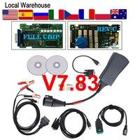 921815C Lexia3 PP2000 V7.83 Full Chip OBD2 Diagnostic Tool Lexia 3 Diagbox 7.83 Multi languages For Peugeot Citroen