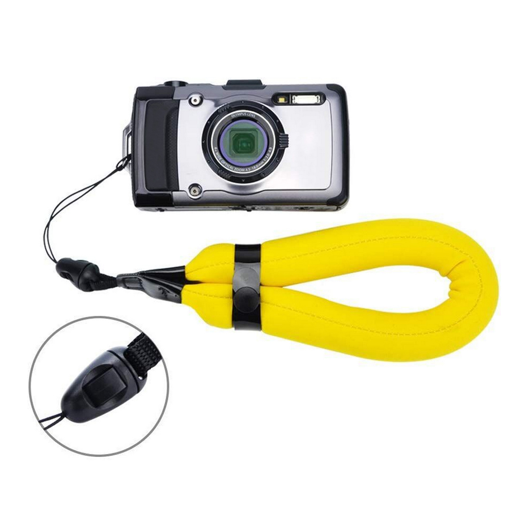 Waterproof Camera Floating Wristband Strap Hand Grip Lanyard for Water Sports Scuba Diving Swiming image