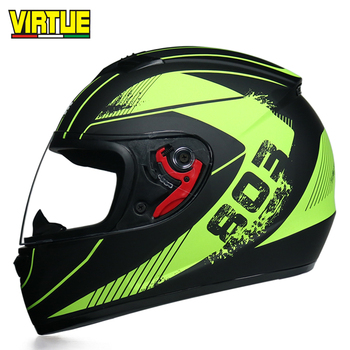 Doohan - motorcycle helmet full face, high quality, m, l, XL, capacete image